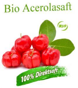ALT: Bio Acerolasaft in top Qualität online kaufen