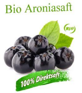 ALT: Bio Aroniasaft mit vielen Vitaminen sowie Antioxidantien