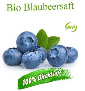 ALT: Leckerer  Bio Heidelbeersaft bzw. Blaubeersaft ideal zum Mixen mit Müsli oder Joghurt
