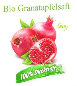 ALT: 3 Liter Bio Granatapfelsaft